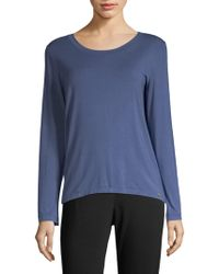 Hanro - Yoga Long Sleeve Top - Lyst