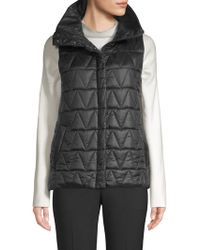 Eileen Fisher - Chevron Recycled Nylon Vest - Lyst