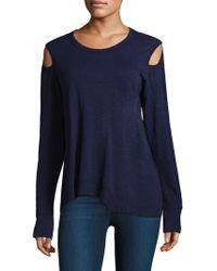 Wilt | Cold Shoulder Pullover | Lyst