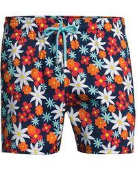 Vilebrequin - Floral-print Swim Trunks - Lyst