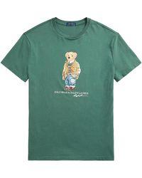 Polo Ralph Lauren Classic-fit Polo Bear T-shirt - Green