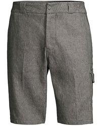 Ferragamo Cargo Bermuda Shorts - Gray