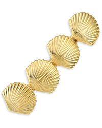 Lelet Sandy Goldplated Seashell Barrette - Metallic