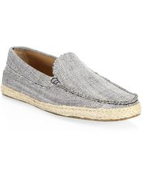 Saks Fifth Avenue - Collection Denim Espadrilles - Lyst