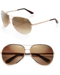 Tom Ford - Charles Aviator Sunglasses - Lyst