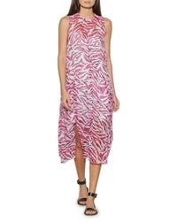 Equipment Tainelle Printed Silk Dress - Multicolor