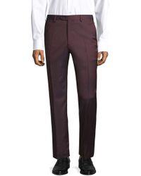 Brioni - Regular-fit Classic Wool Trousers - Lyst