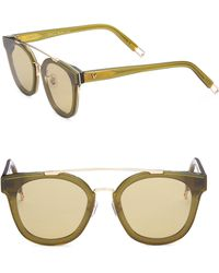 9149ff6c8b Gentle Monster - Tilda Swinton X Newtonic 64mm Rounded Square Sunglasses -  Lyst
