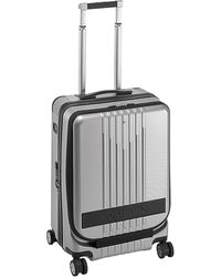 Montblanc My4810 Nightflight Cabin Front Pocket Luggage - Metallic