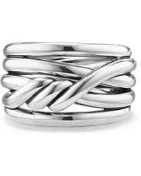 David Yurman - Continuance Ring In Sterling Silver - Lyst