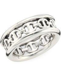 Hoorsenbuhs Chasis Iii Sterling Silver Ring - Metallic