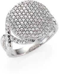 Phillips House - Diamond & 14k White Gold Infinity Ring - Lyst