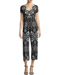 Alice McCALL | Crave You Eyelet Jumpsuit | Lyst