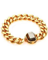 House of Lavande - Batari Pyrite Chain Bracelet - Lyst