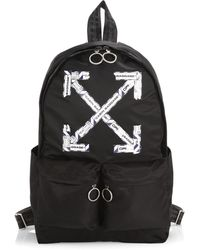 Off-White c/o Virgil Abloh Airport Tape Backpack - Black