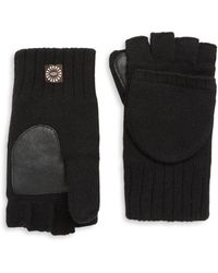 UGG - Knitted Flip Mittens - Lyst