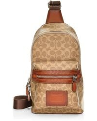 COACH - Academy Signature Backpack - Lyst