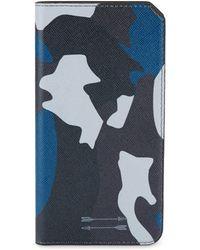 Uri Minkoff - Saffiano Leather Folio Iphone 7+ Case - Lyst