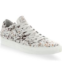 John Varvatos - Reed Low Top Trainers - Lyst