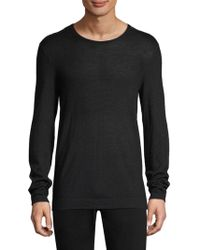 John Varvatos - Long-sleeve Sweater - Lyst