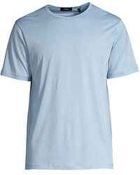Theory Precise Luxe Cotton T-shirt - Blue