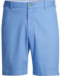 Peter Millar - Men's Twill Shorts - Iberian Blue - Lyst