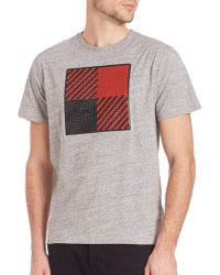 Mostly Heard Rarely Seen - Textured Square Tee - Lyst