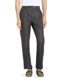 Burberry - Runway Wool & Mohair Trousers - Lyst