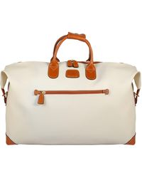 "Bric's Firenze 22"" Leather Duffel Bag - Multicolor"