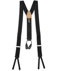 Trafalgar Regal Formal Suspenders - Black