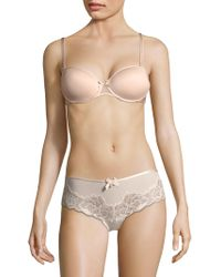Chantelle - Modern Invisible Smooth Custom Fit Convertible Demi Bra - Lyst