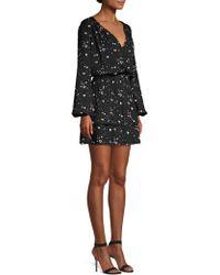 Parker - Clementine Heart Print Dress - Lyst