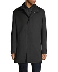 Strellson - Bronx Wool-blend Short Coat - Lyst
