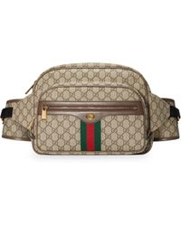 fdafd0b917c3c8 Gucci GG Canvas Belt Bag in Natural for Men - Lyst