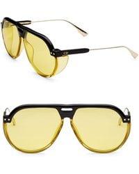 Dior - Club 3s 61mm Pilot Sunglasses - Lyst