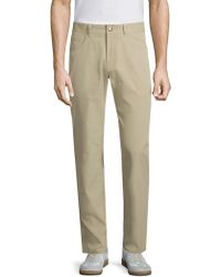 Peter Millar - Six Pocket Twill Chino Trousers - Lyst