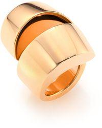 Vhernier - Kiss 18k Rose Gold Ring - Lyst