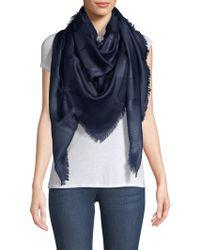 Ferragamo - Sl Gancio Silk & Wool Logo Scarf - Lyst