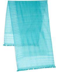 Eileen Fisher - Organic Cotton-blend Scarf - Lyst