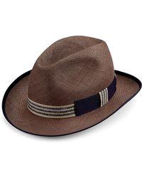 Barbisio - Panama Ribbon Hat - Lyst