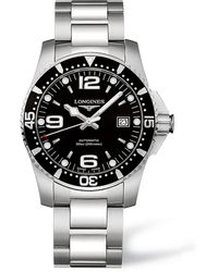 Longines Hydroconquest 41mm Automatic Black Dial Mens Watch