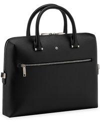 Montblanc Leather Document Case - Black