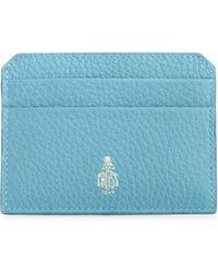 Mark Cross - Leather Card Case - Lyst