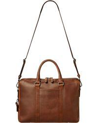 Shinola - Leather Computer Briefcase - Lyst