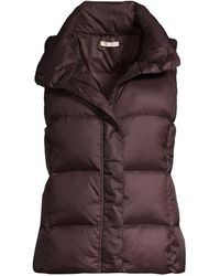 Eileen Fisher Recycled Polyester Quilted Puff Vest - Multicolor