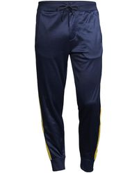 Polo Ralph Lauren Polo Sport Side Tape Track Pants - Blue