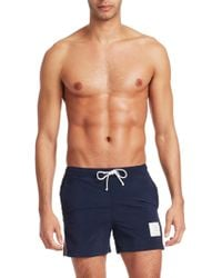 Thom Browne - Classic Swimming Trunks - Lyst