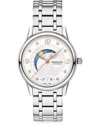 Montblanc 119934 Unisex Boheme Day & Night Automatic Date Bracelet Strap Watch - Metallic