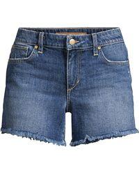 Joe's Jeans - Alma Cropped Denim Short - Lyst