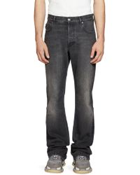 Balenciaga Bootcut Jeans - Black
